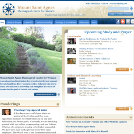 Mount Saint Agnes Theological Center for Women Website