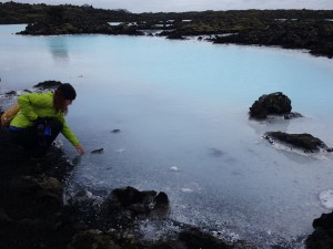 Lucy Clark finds web design inspiration in Blue Lagoon Iceland